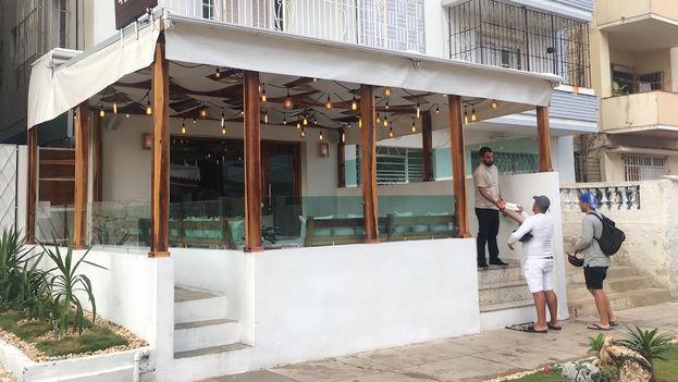 La paladar MarAdentro en La Habana. (14ymedio)