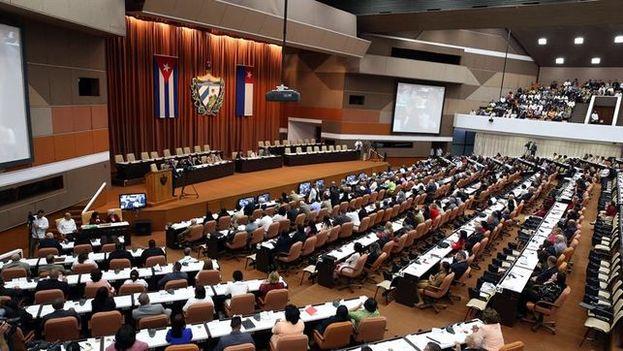 El parlamento cubano durante una de sus sesiones. (EFE)