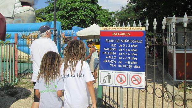El parque La Maestranza de La Habana. (14ymedio)