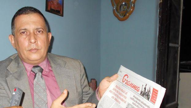 El periodista José Antonio Torres condenado por espionaje en 2011. (14ymedio)
