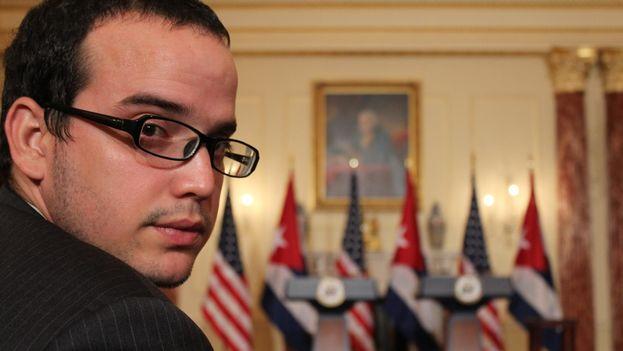 El periodista oficial Sergio Alejandro Gómez. (Facebook)