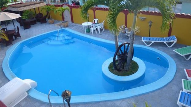 La piscina de Casa Nenita. (14ymedio)