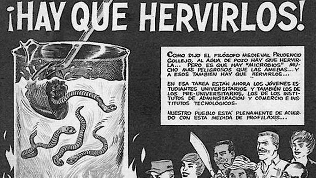 Una dura campaña propagandística contra los opositores y disidentes se desató desde el triunfo revolucionario. (Cortesía)