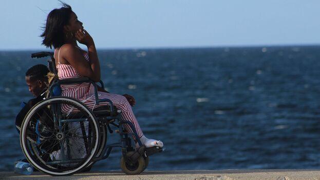 Según datos publicados por el Ministerio de Salud cubano, el 7% de la población en el país tiene algún tipo de discapacidad; la mayoría son mujeres. (14ymedio)