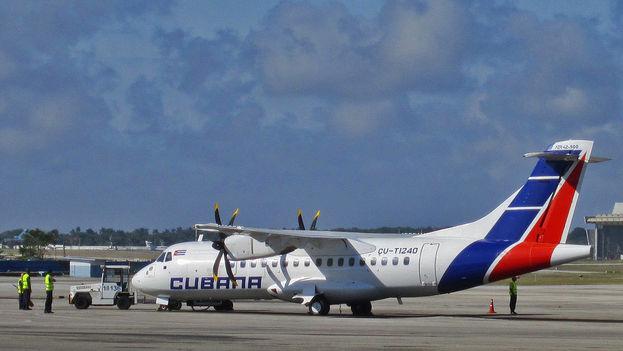 La reapertura de los itinerarios se cubrirá con aviones modelo ATR 72-500. (Flickr)