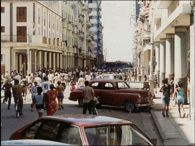 El 5 de agosto de 1994, el litoral habanero fue testigo de una revuelta popular conocida como El Maleconazo. (Karel Poort)