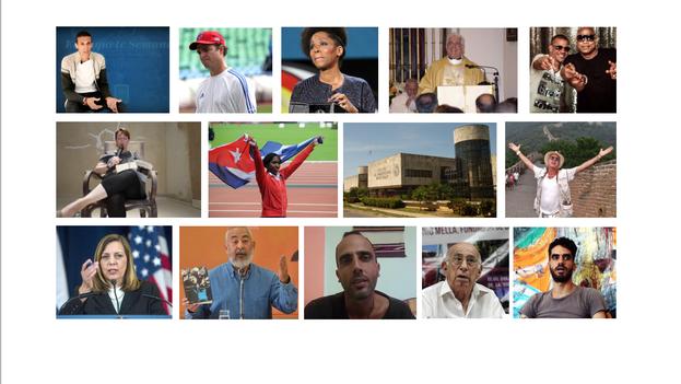 Los 14 rostros de 2015