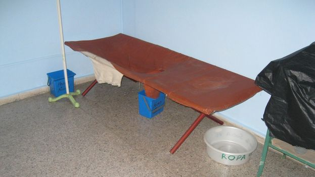 Módulo para la unidad de tratamiento del cólera. (14ymedio)