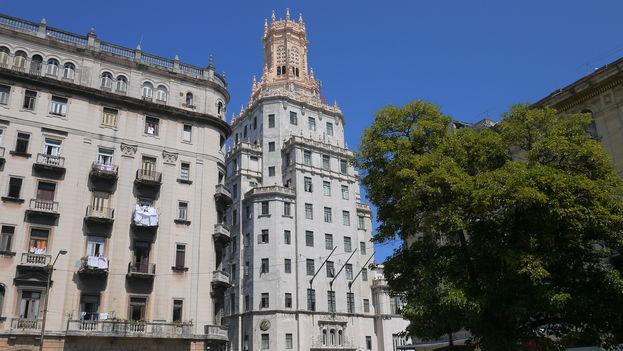 La sede principal de la empresa Etecsa en La Habana