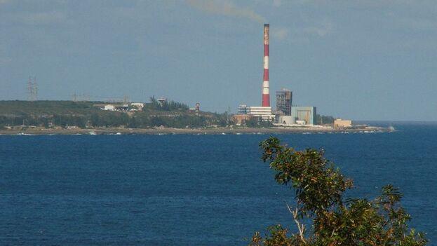 La central termoeléctrica de Matanzas, Antonio Guiteras. (Cortesía)
