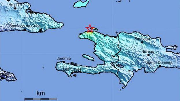 El terremoto de 5,9 grados en la escala de Richter ocurrido en Haití se sintió en Baracoa. (EFE)