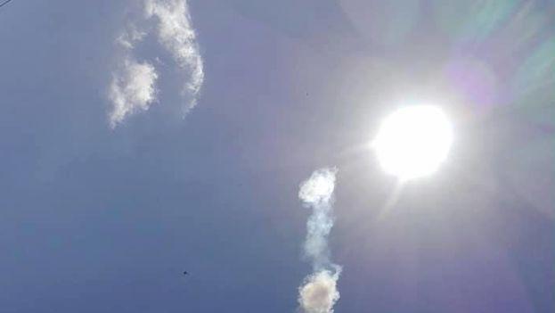 """Algunos testigos aseguraron haber visto """"una bola de fuego"""" en el cielo. (Guerrillero)"""