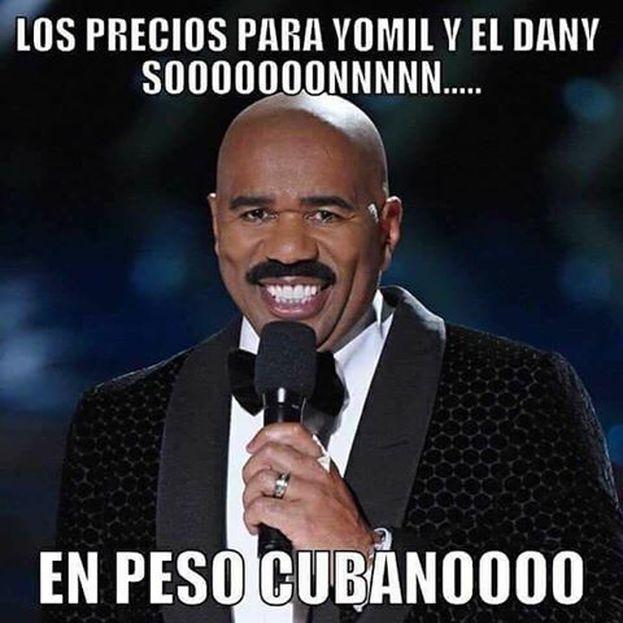 Muchos usuarios de las redes sociales han utilizado los memes para criticar los precios del concierto de 'Yomil y el Dany'. (CC)