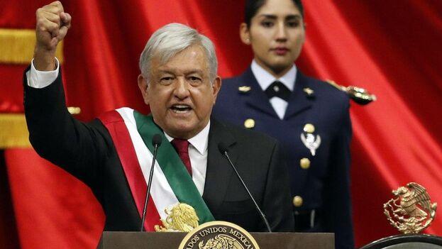 Andrés Manuel López Obrador tomó posesión como presidente de México el 1 de diciembre de 2018. (Archivo)