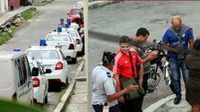Es del cerco policial este domingo frente a la sede de las Damas de Blanco en Lawton, La Habana. (Twitter/Berta Soler)