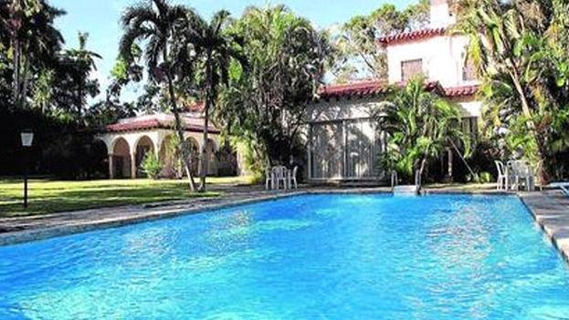 Casa de protocolo en la que se alojó el presidente venezolano Nicolás Maduro en sus visitas a Cuba. (Las 2 Orillas)