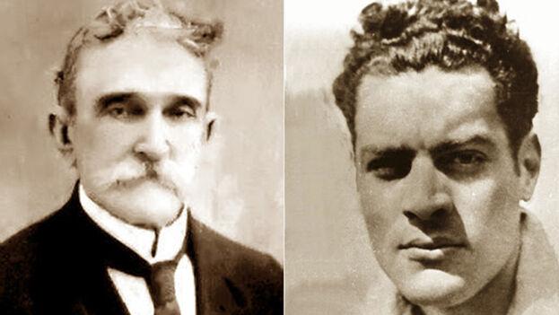 El líder estudiantil Julio Antonio Mella (derecha) y el dirigente sindical Carlos Baliño fundaron el primer Partido Comunista de Cuba el 16 de agosto de 1925 en La Habana. Asistió también el agente de la Inteligencia rusa Fabio Grobart, de origen polaco, que usaba entonces el alias de Yunger Semiovich. (Archivo ACN)