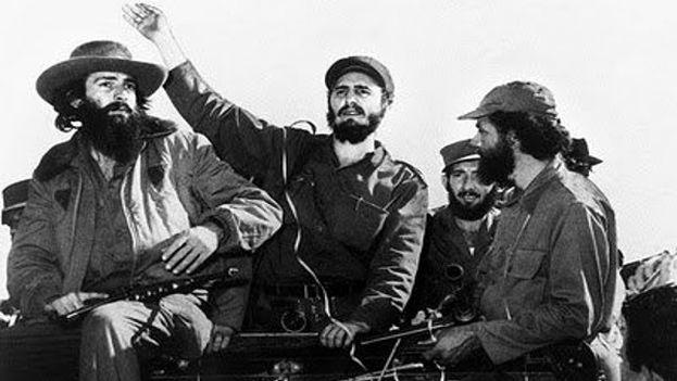 Entrada de Fidel Castro en La Habana en 1959. (Archivo)