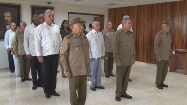 La presencia de miembros de las Fuerzas Armadas Revolucionarias es patente en todas las estructuras de poder de Cuba. (Prensa Latina)
