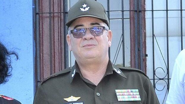 El nuevo ministro del Interior, el general de brigada Lázaro Alberto Álvarez Casas. (Minint)