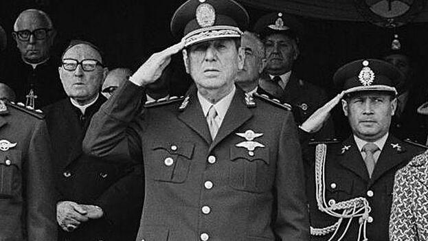 Juan Domingo Perón en 1974. (D.R.)