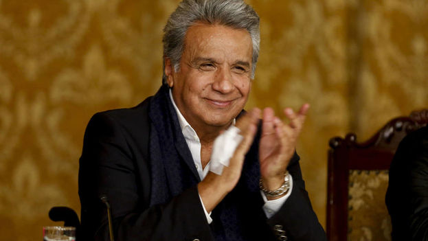 El triunfo del Sí el pasado domingo en el referéndum impulsado por Lenín Moreno tiene un profundo significado para Cuba. (EFE)