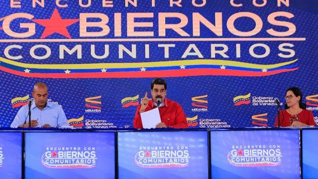 Maduro realizó unas declaraciones insólitas en torno al coronavirus el pasado día 28 en un encuentro con los Gobiernos comunitarios. (NicolasMaduro)
