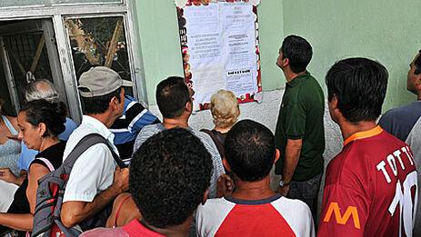 Murillo dijo que más de 100.000 cubanos han dejado esa vida sin trabajar y se han incorporado al mundo del trabajo gracias a la Tarea Ordenamiento. (EFE)
