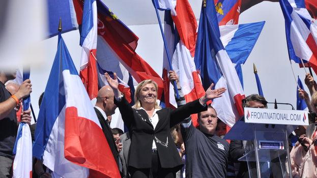 En la segunda vuelta, el 7 de mayo, Le Pen obtendrá más del 35% de los sufragios, es decir, el apoyo de entre 12 y 15 millones de franceses. (CC)