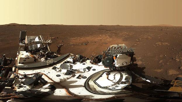 Perseverance en Marte. (NASA)