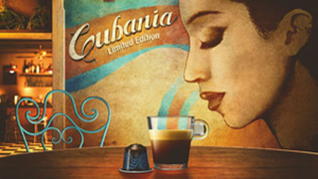 Publicidad de Nespresso para una edición limitada que realizó en 2014 como tributo al café cubano. (Nestlé)