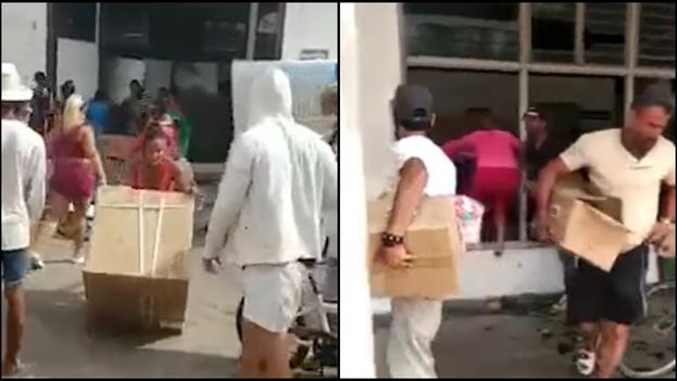 Quienes cargan botellas de refrescos, equipos de climatización, incluso colchones, actúan de forma similar a otros en Santiago de Chile, Quito, Cali o Washington. (Collage)