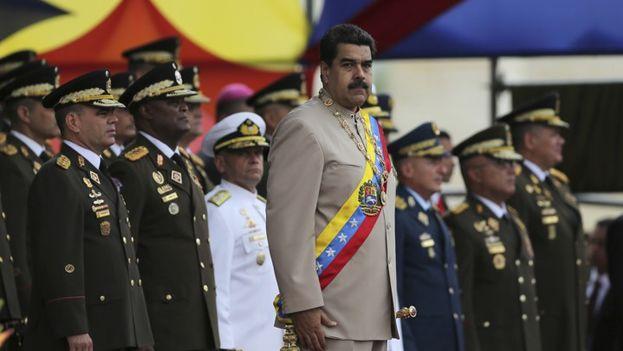El Tribunal Supremo de Justicia venezolano en el exilio condenó a 18 años de cárcel a Nicolás Maduro. (EFE)