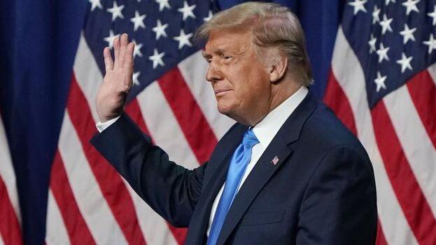 """""""Mi prioridad ahora es asegurar una transición de poderes ordenada"""", aseguró Trump. (EFE/ EPA/ Chris Carlson)"""