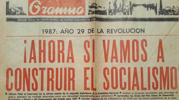 Los años 80 también fueron de experimentos y programas oficiales marcados por el voluntarismo de Fidel Castro. (14ymedio)