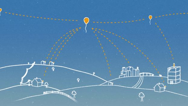 Una imagen del proyecto Loon de Google