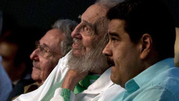 El presidente aprendió del régimen cubano que puede justificar la falta de libertades con supuestas amenazas externas. (EFE/Cubadebate)