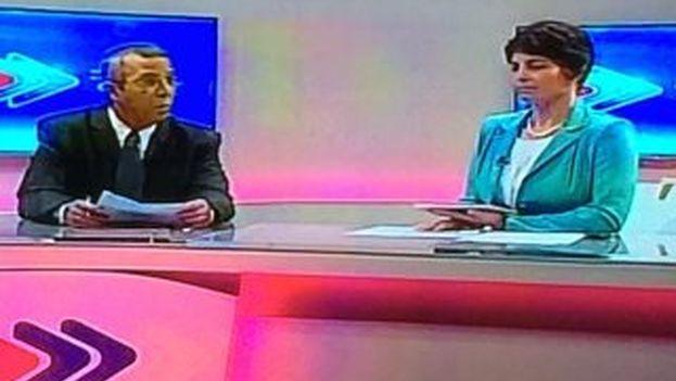 La televisión nacional dedicó largos minutos a hablar del pasado colonial cubano evitando tratar la visita de Obama. (@yoanisanchez)