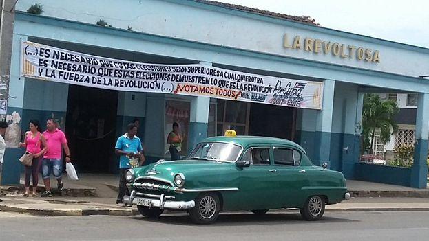 El temor a perder el control político ha impedido las transformaciones democráticas y ha llevado a Díaz-Canel a incurrir en un delito electoral. (Yusmila Reyna/Twitter)