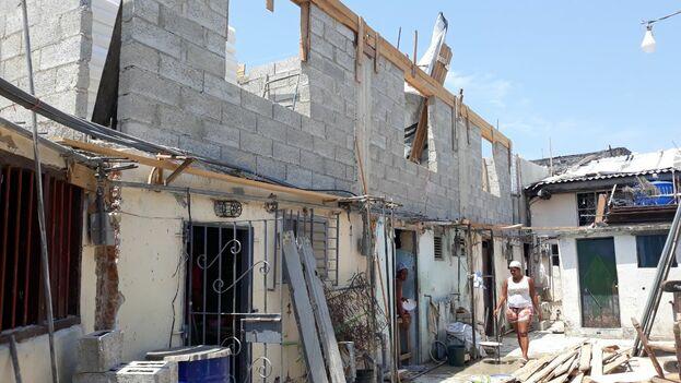 Ciudadela Otero en construcción. (14ymedio)