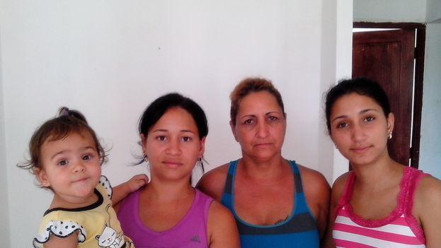 Familia Gálvez Migueles. (14ymedio)