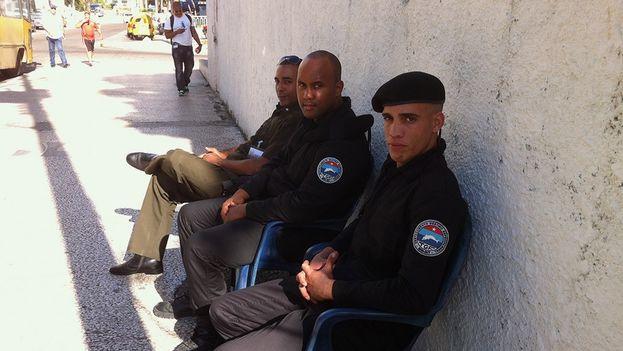 Grupo especial de Guardafronteras. (Luzbely Escobar)