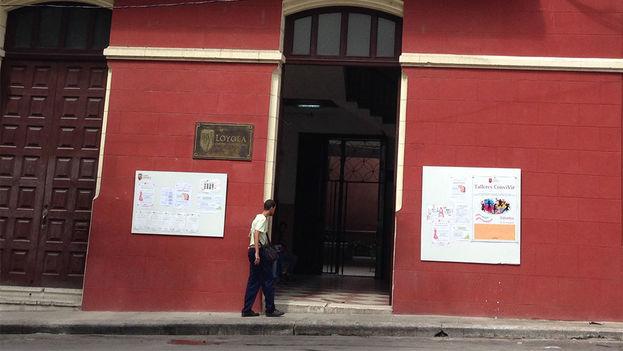 El Centro Loyola, en la barriada de Los Sitios, en el corazón de Centro Habana. (14ymedio)