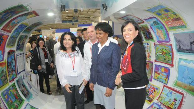 Igor Masik presentó Aqualife en la feria expositiva de la II Convención Internacional Cubagua 2017 que se desarrolla en La Habana. (Cubagua2017)