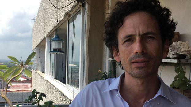 Boris González, uno de los promotores de la iniciativa. (14ymedio)