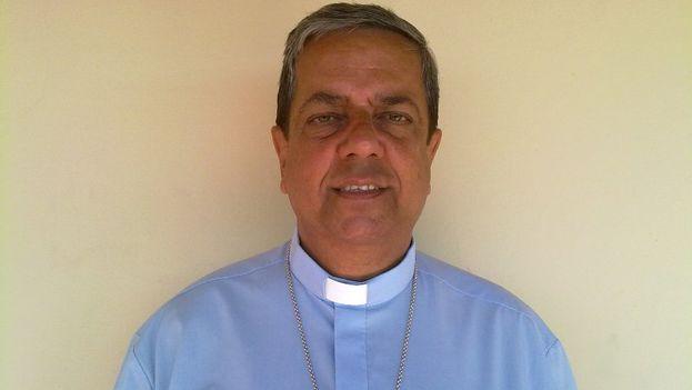 El nuevo obispo de Camagüey, Wilfredo Pino Estévez. (iglesiacubana.net)