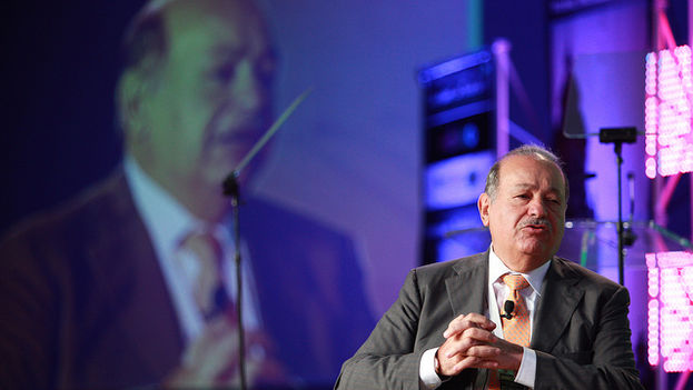 Carlos Slim en el  World Travel & Tourism Council, en 2012. (Flickr)
