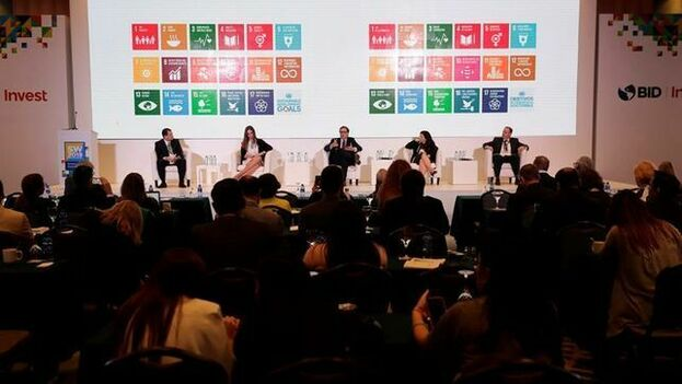 Conferencia en la Semana de la Sostenibilidad organizado por el BID Invest.