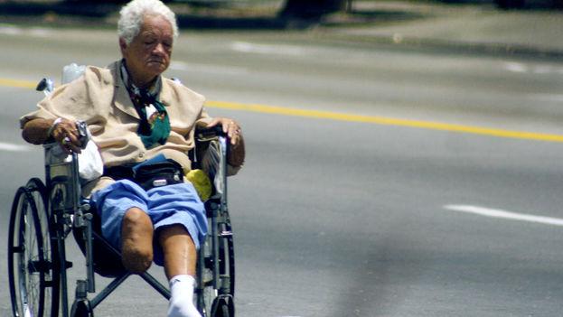 Es posible conseguir una silla de ruedas en Cuba sin acudir al Sistema de Salud si se dispone de al menos 80 CUC. (Silvia Corbelle/14ymedio)