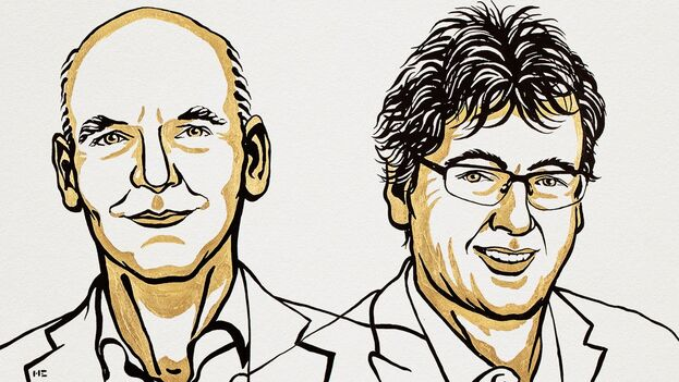 David W.C. MacMillan, británico, y Benjamin List, alemán, se alzaron con el galardón por su aportación a nuevos productos farmacéuticos y más ecológicos. (Nobel Prize)
